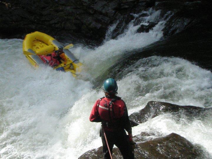 Will Volpert and George White run Bob's Falls