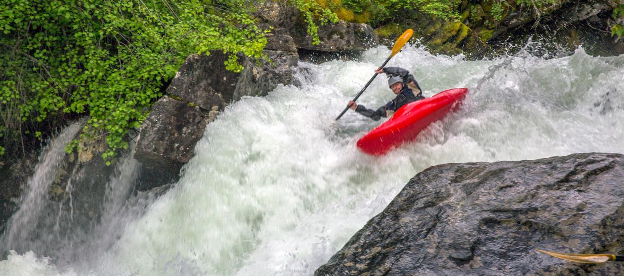 10-footer on Kootenai Creek. Photo by Skip Volpert