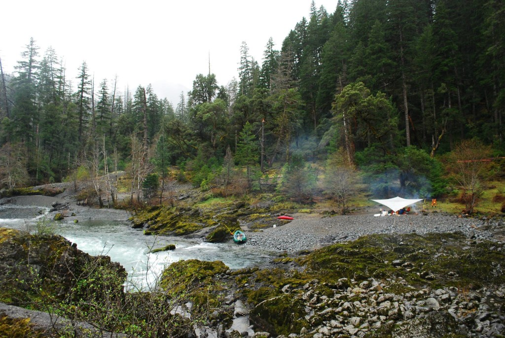 Camping at Klondike Creek