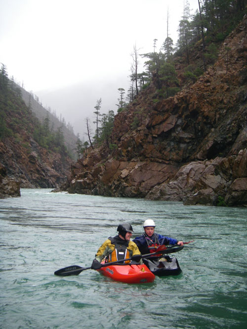 Dan Thurber and Todd on the North Fork of the Smith