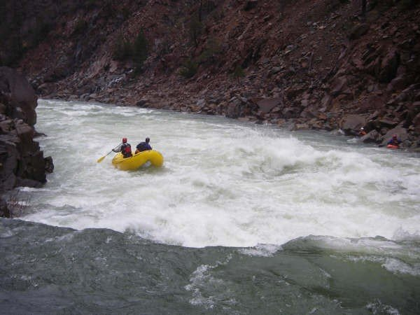Scout Rapid, North Fork Smith