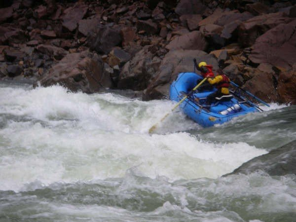 Running Scout Rapid, North Fork Smith