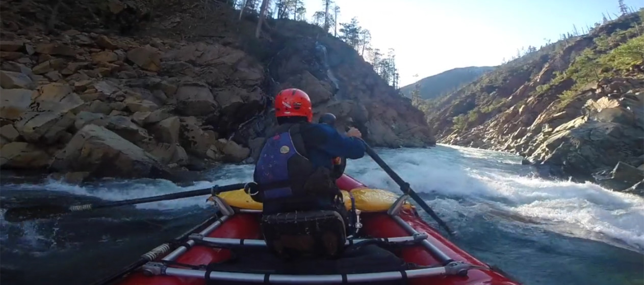 Rafting the North Fork of the Smith. Courtesy of Yann Crist-Evans