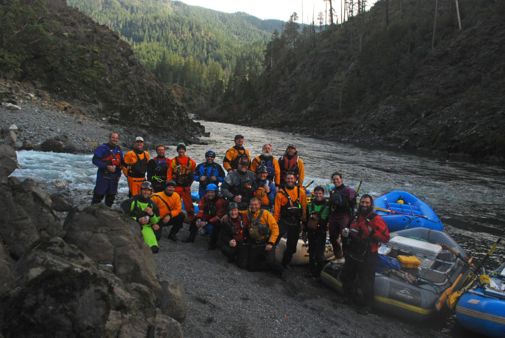 Group shot at Indigo Creek.