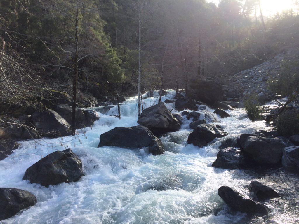 Landslide rapid
